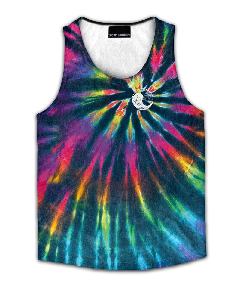 Image of Yin & Yang Tie Dye Jersey Vest