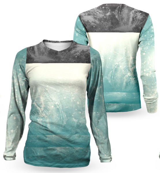 Image of Gradient Women's Long Sleeve Jersey