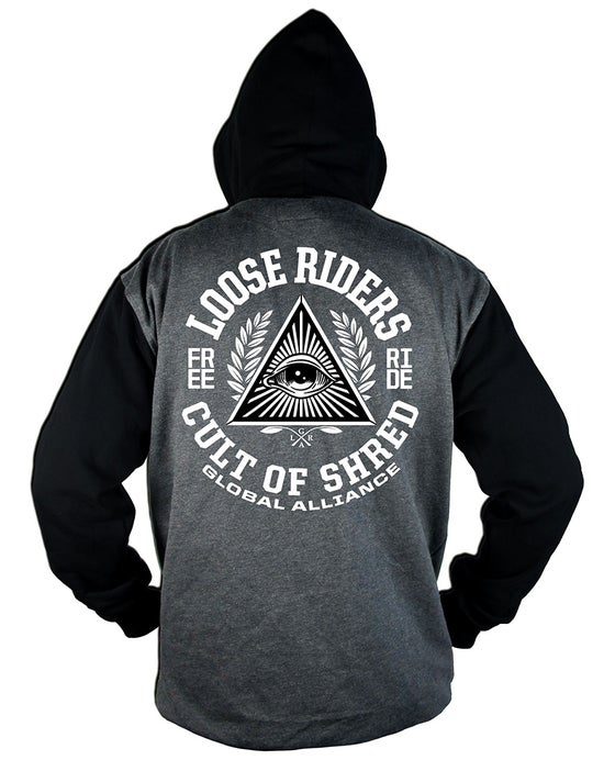 Image of Cult of Shred Hoodie Grey