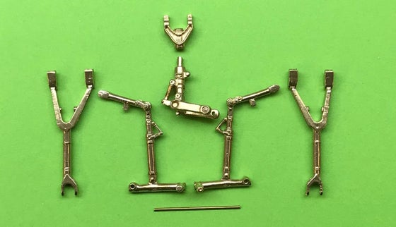 Image of OV-10A/C/D Bronco Brass Undercarriage set