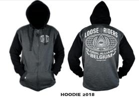 Image of Loose Riders ENGLAND Hoodie 2018