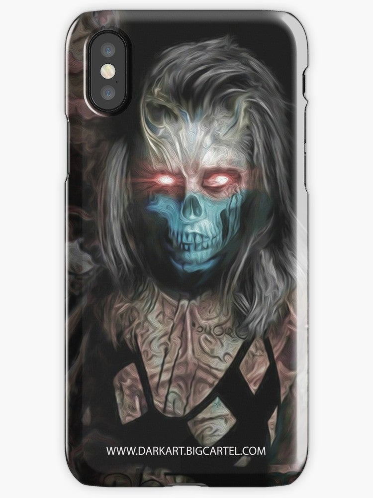 "Image of ""Disenchanted Spirit"" iPhone Tough Case"