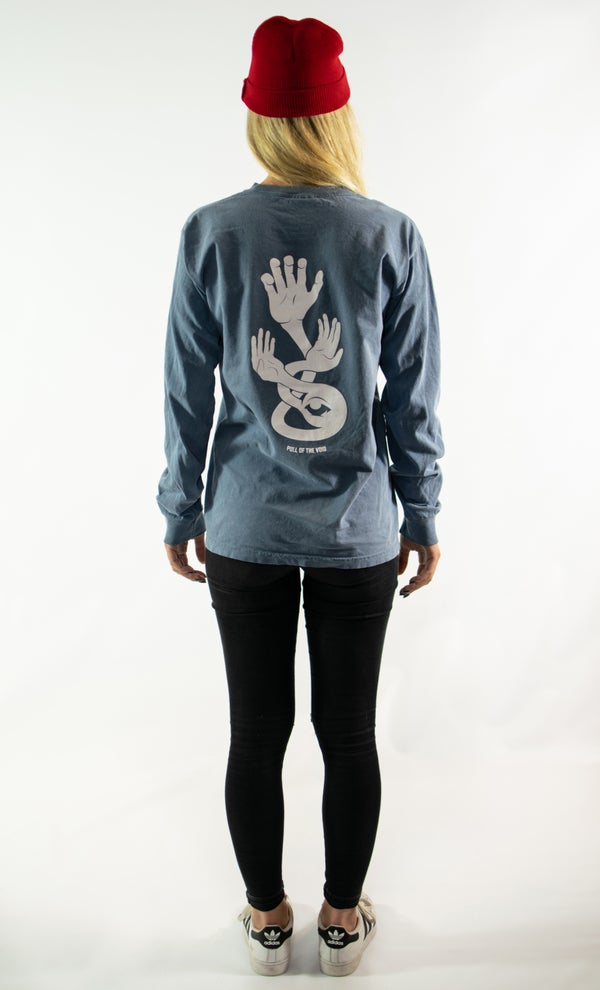 Image of The Void Long Sleeve - BLUE