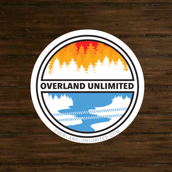 Image of FREE Shipping-Overland Unlimited Vinyl Decal