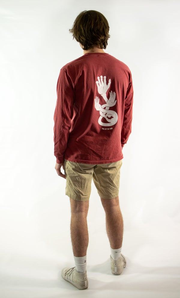 Image of The Void Long Sleeve -RED