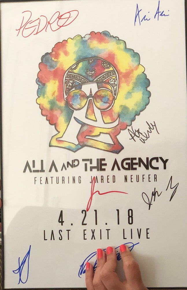 Image of Limited Edition Album Release Autographed Poster