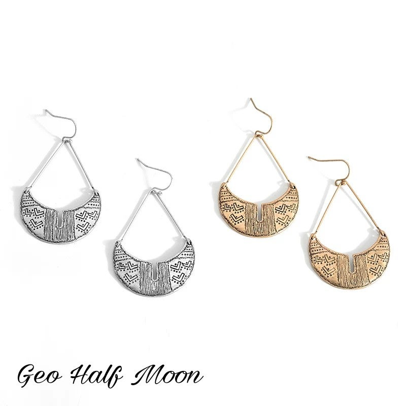 Image of The Geo Earring(s)