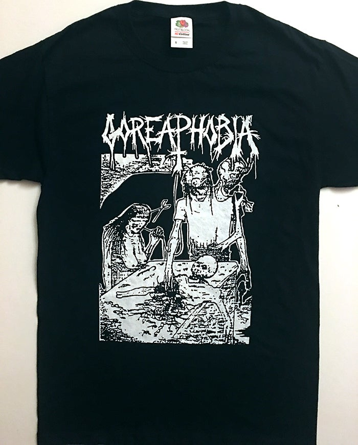 "Image of Goreaphobia "" Demo Cover "" T shirt"