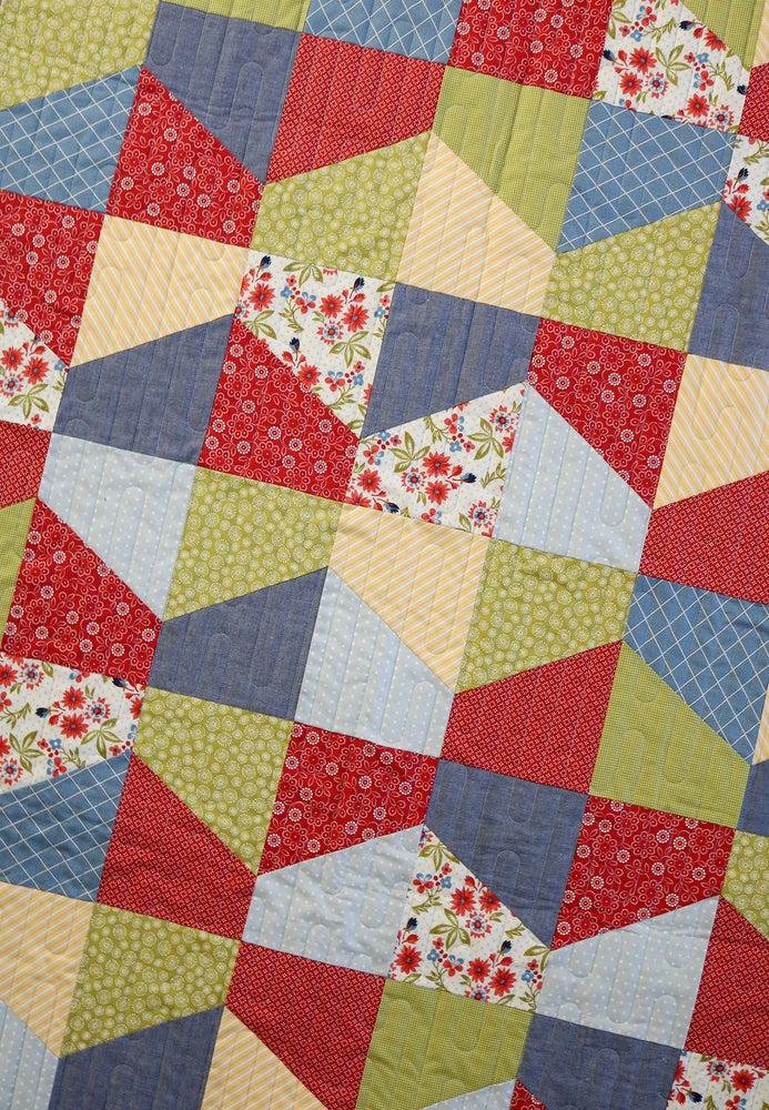 Lofty Quilt Pattern PDF Version A Bright Corner Fascinating Quilt Patterns