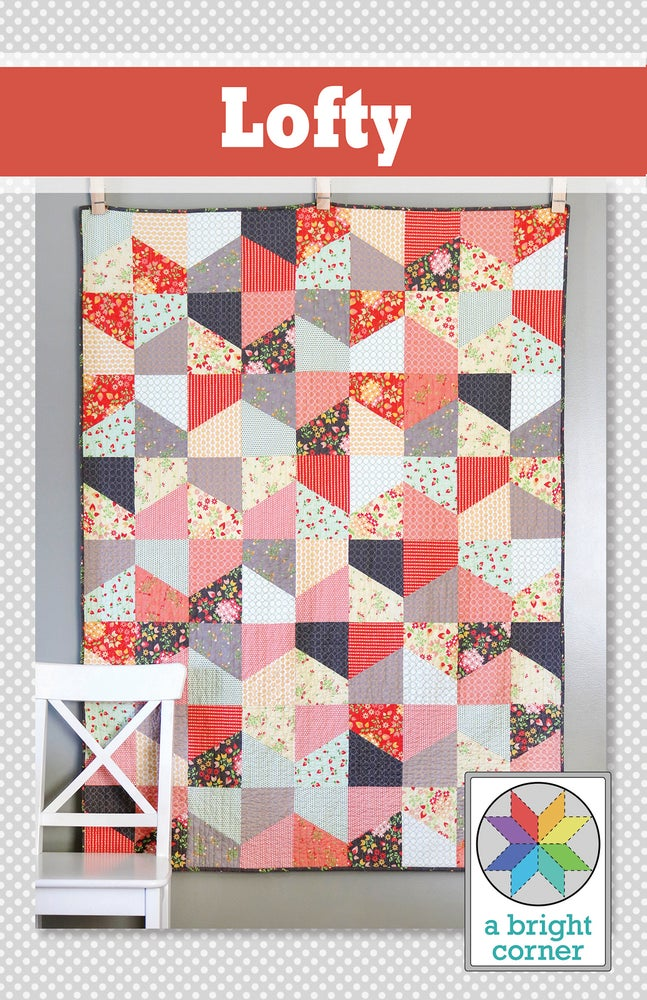Image of Lofty Quilt Pattern - PAPER pattern