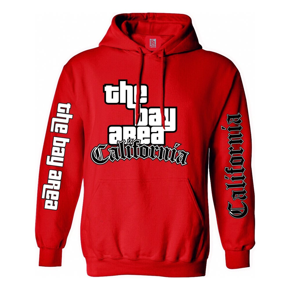 Image of The Bay Area GTA Hoodie (Red)
