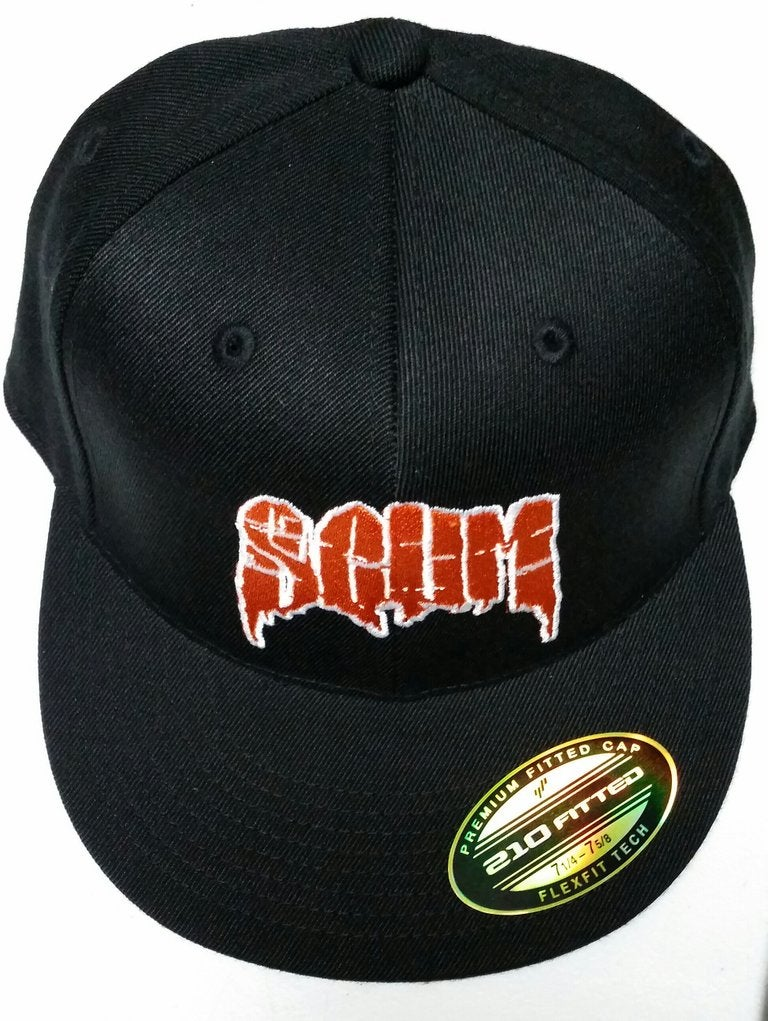 Image of SCUM LOGO FITTED HAT:  MULTIPLE COLORS