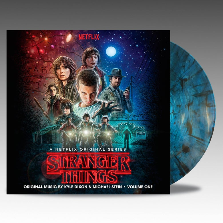 Image of Stranger Things Volume One 'Upside Down Inter-Dimensional Blue' Vinyl - Kyle Dixon & Michael Stein
