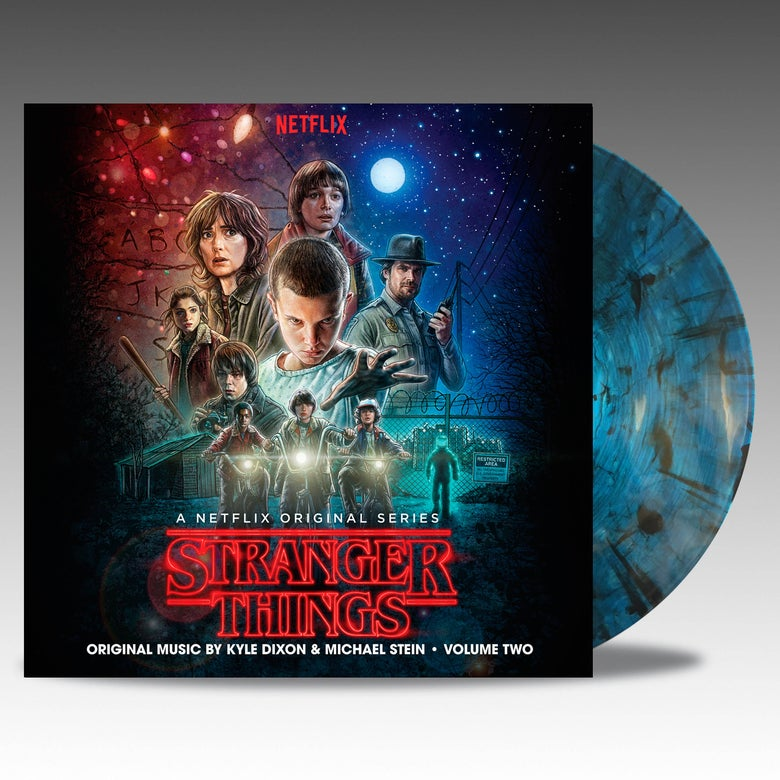 Image of Stranger Things Volume Two 'Upside Down Inter-Dimensional Blue' Vinyl - Kyle Dixon & Michael Stein