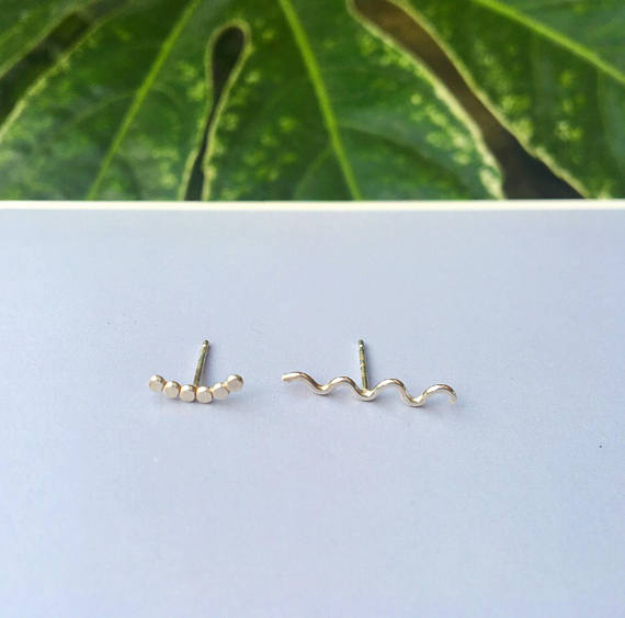 Image of Mix and Match Silver Studs