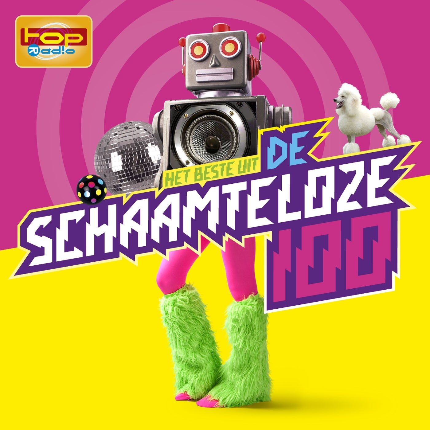 Image of Various Artists - TOPradio - Het Beste Uit De Schaamteloze 100 (4CD)