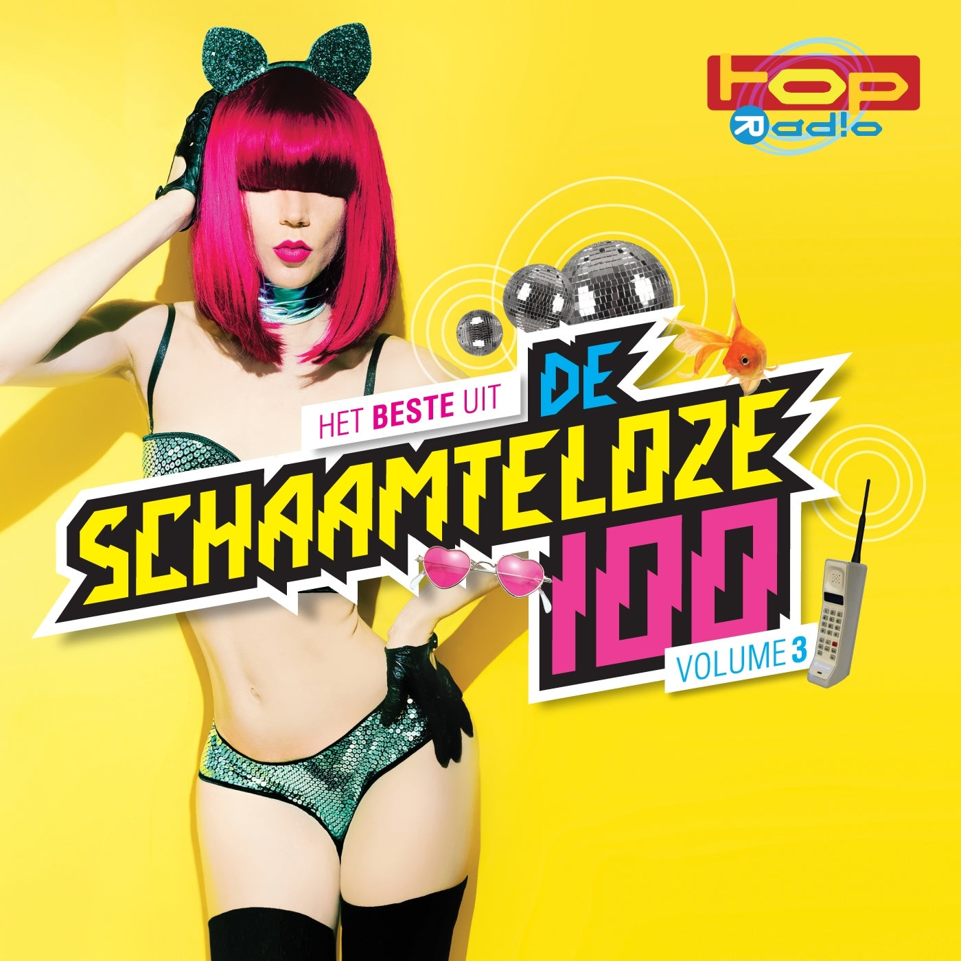 Image of Various Artists - TOPradio - De Schaamteloze 100 - Volume 3 (4CD)