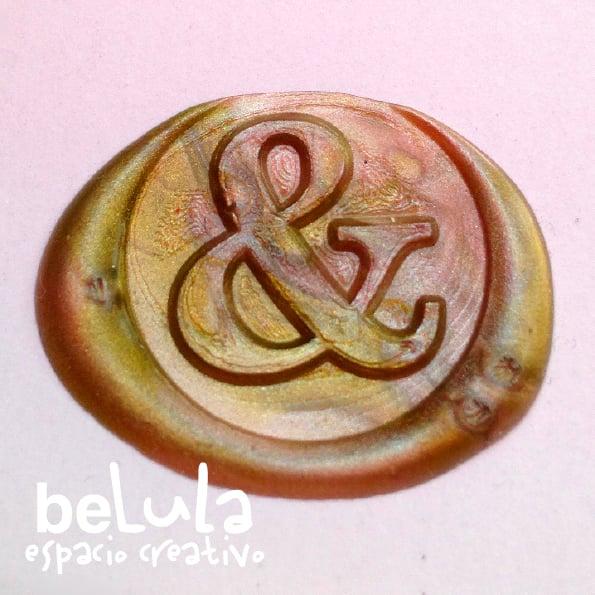 Image of Sello de lacre: ampersand