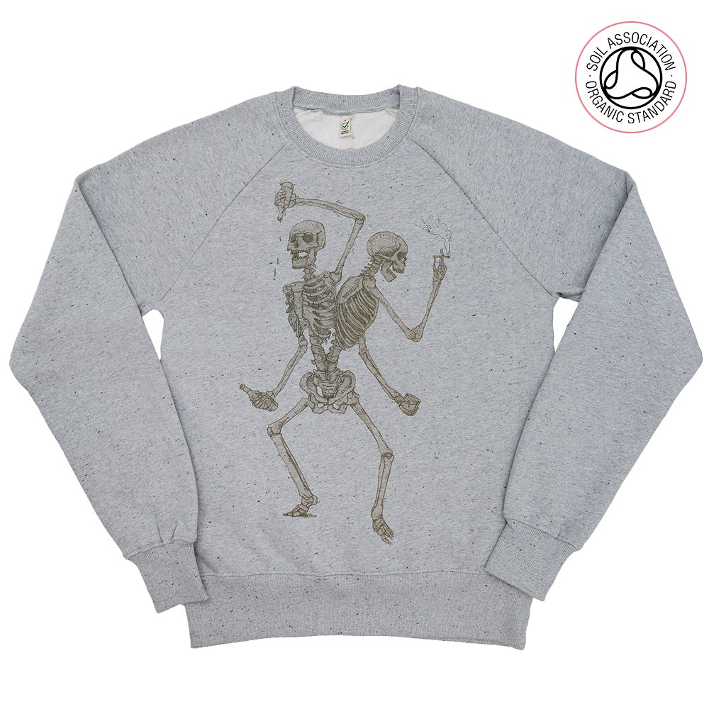 Friends Forever Grey Twist Sweatshirt (Organic)