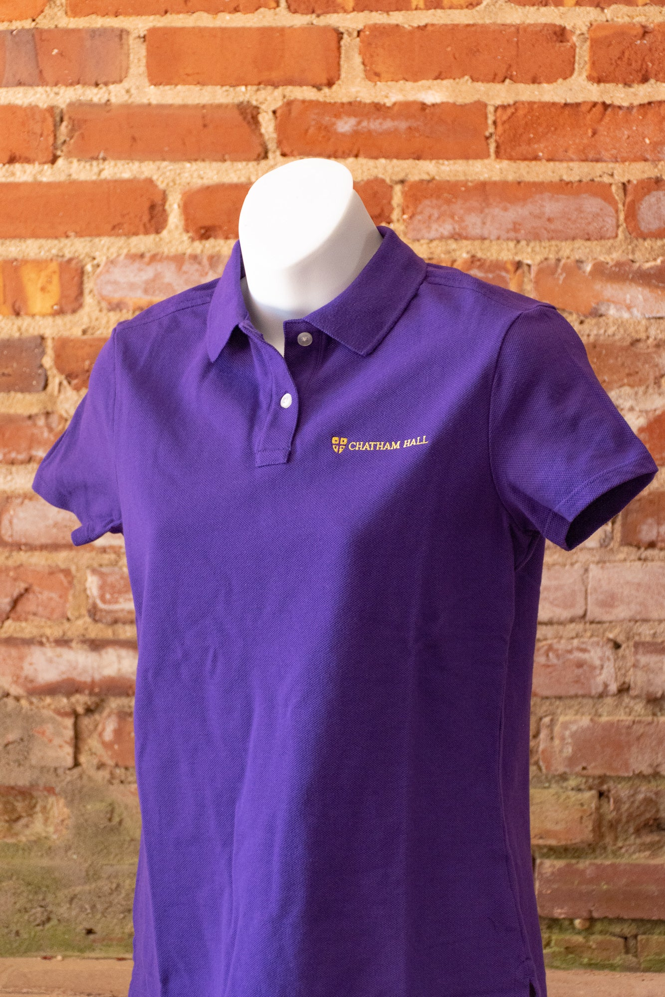 Image of Land's End Feminine Fit Polo Shirt & Men's Regular Fit Polo