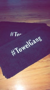 Image of Towel gang- Black