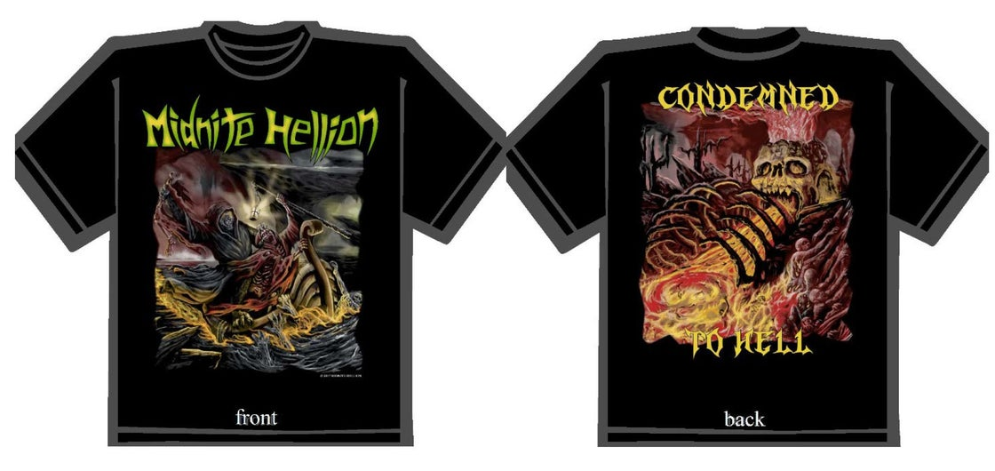 "Image of ""Condemned To Hell"" T-Shirt"