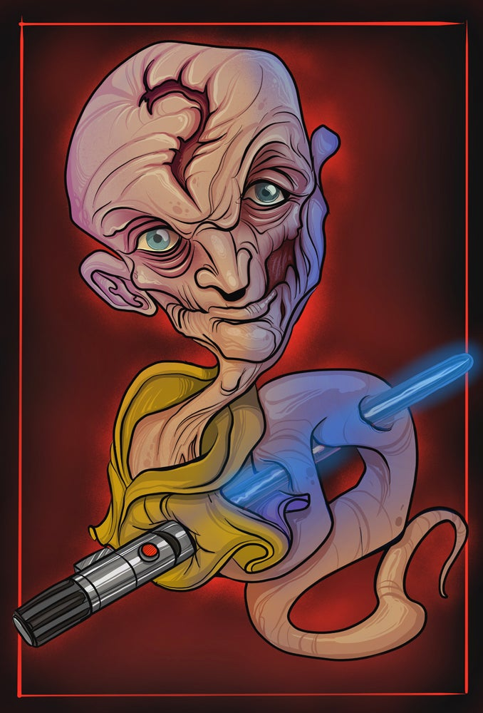 Image of 2018 Snoke Digital Print