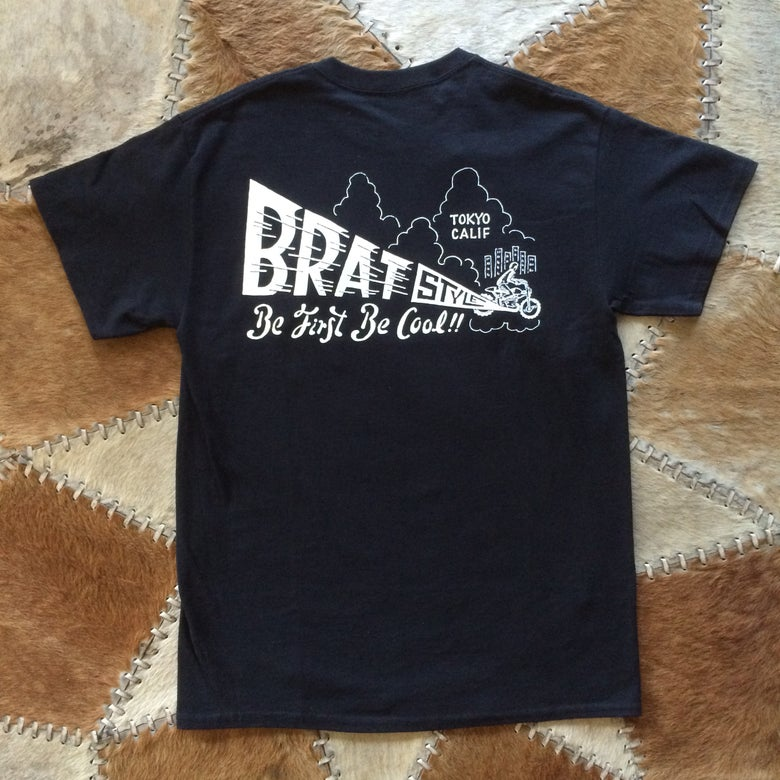 Image of BE FIRST BE COOL T-SHIRT with pocket BLACK