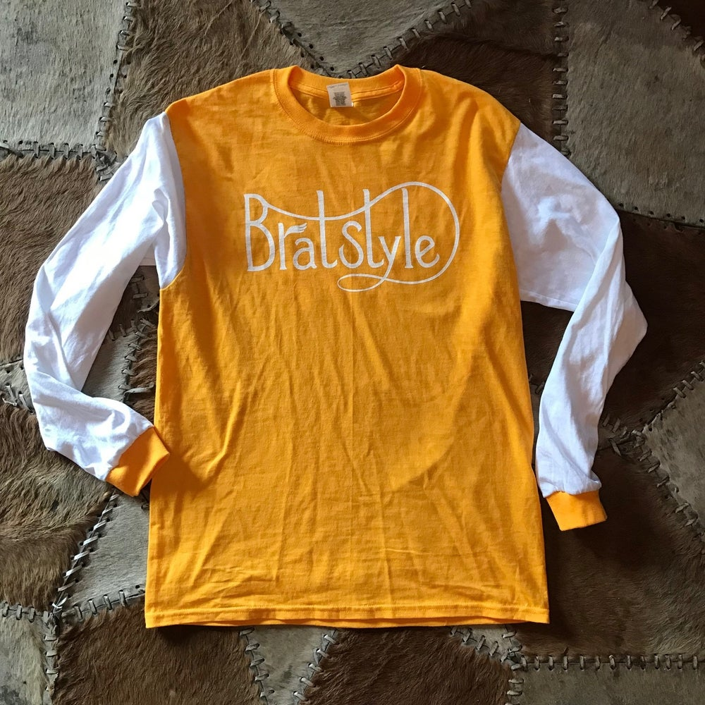 Image of Hell On Wheels×BRATSTYLE SCRAMBLER JERSEY YELLOW