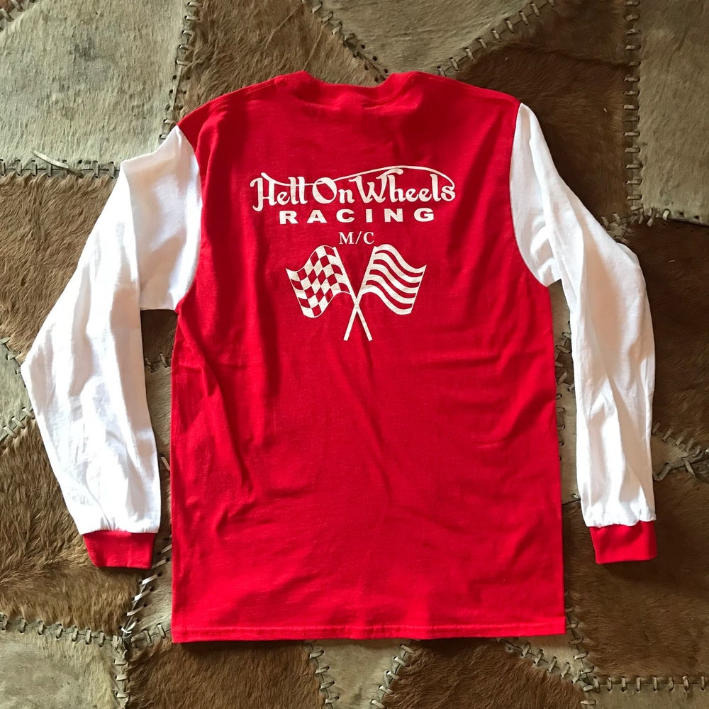 Image of Hell On Wheels×BRATSTYLE SCRAMBLER JERSEY RED