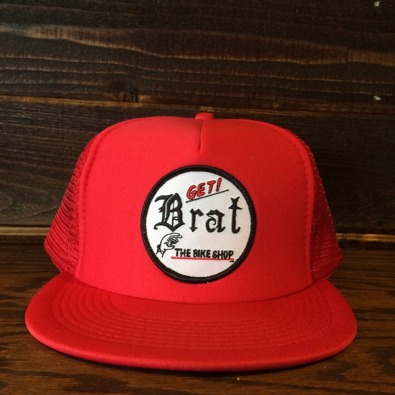 Image of GET! BRAT TRUCKER HAT w/z patch