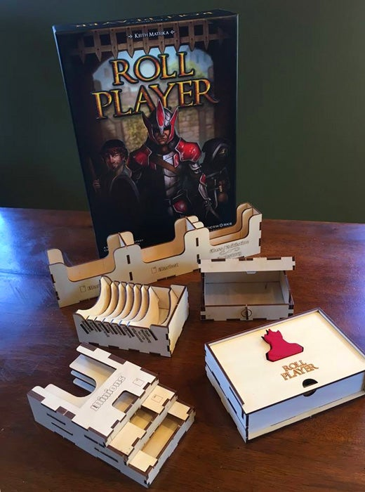 Image of Roll Player Meeple Realty Custom Wooden Insert