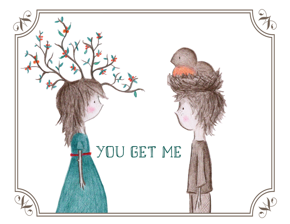 """Image of greeting cards ~ """"you..."""""""