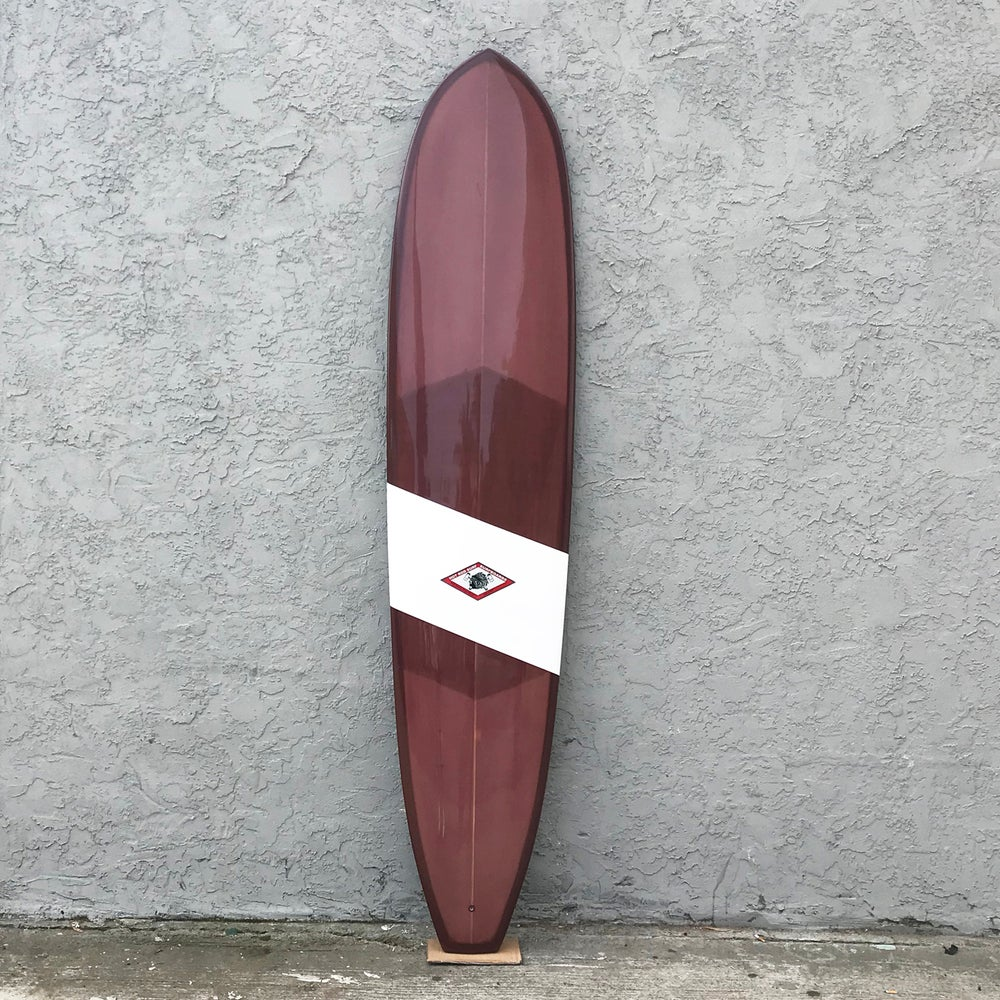 "Image of Tomahawk 9'0"" Surfboard by HOT ROD SURF ®  – Brown/White"