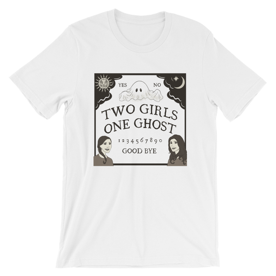 Image of TWO GIRLS ONE GHOST LOGO TEE - UNISEX