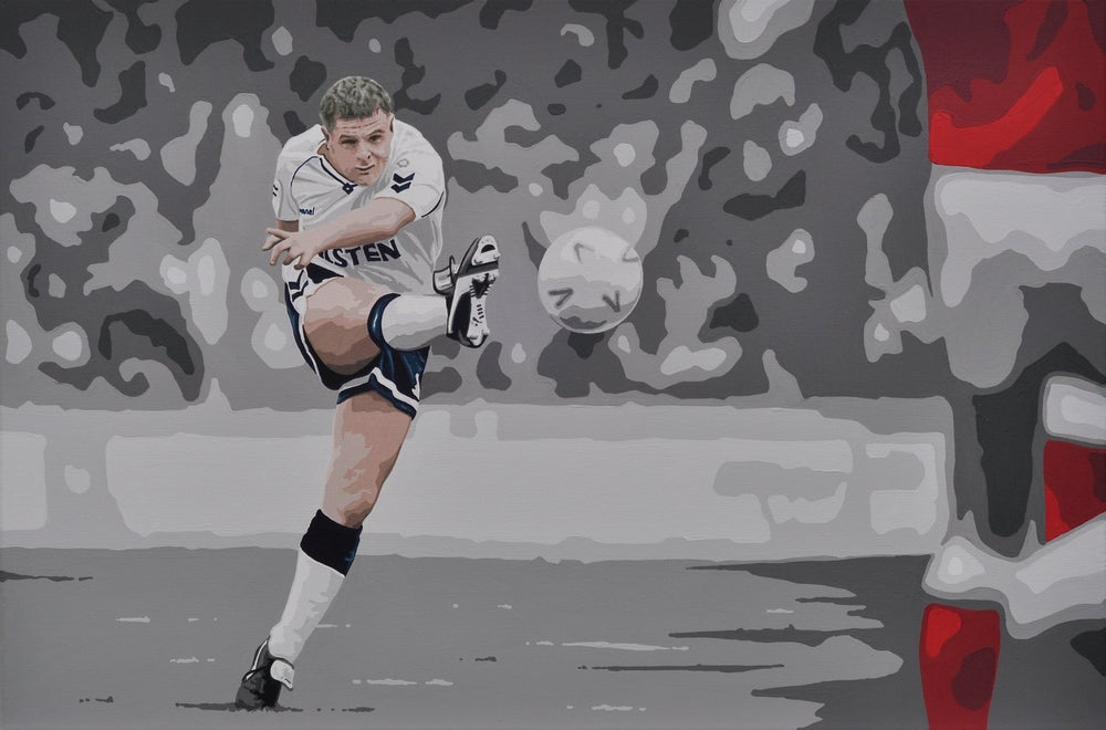 Image of GAZZA VS ARSENAL (3x2ft canvas print)