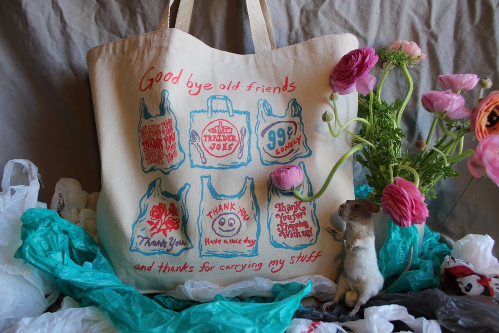 Image of Goodbye Old Friend! Tote Bag