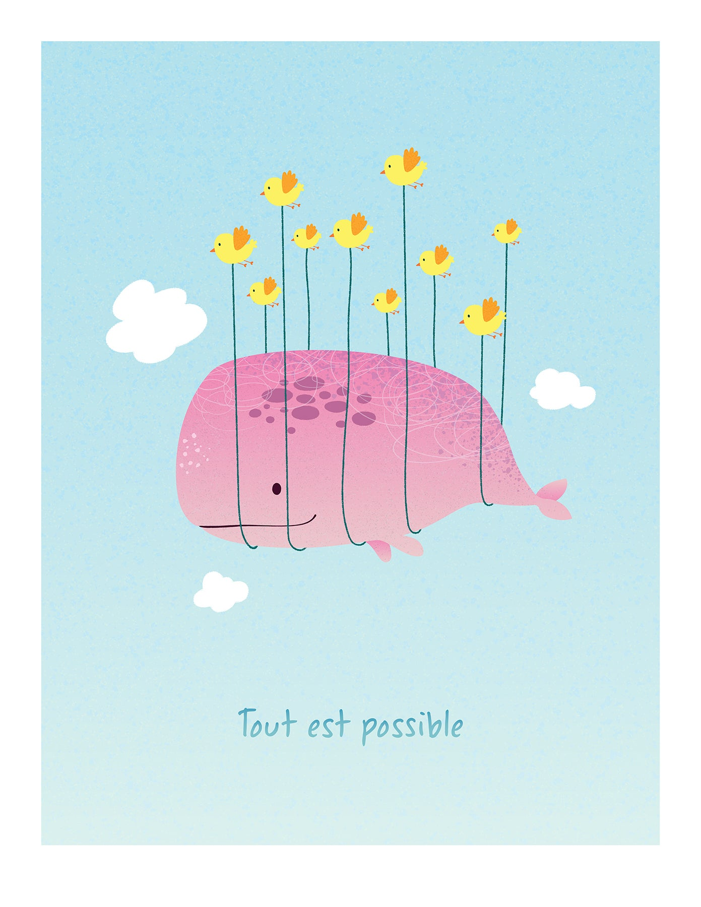 Image of Tout est possible - Rose