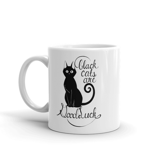 Image of BLACK CATS ARE GOOD LUCK - MUG