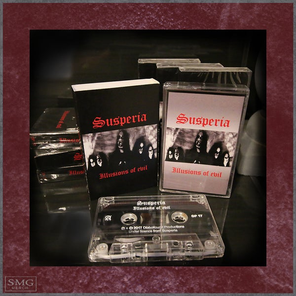 Image of Susperia - Illusions of evil - 1999 Demo Cassette