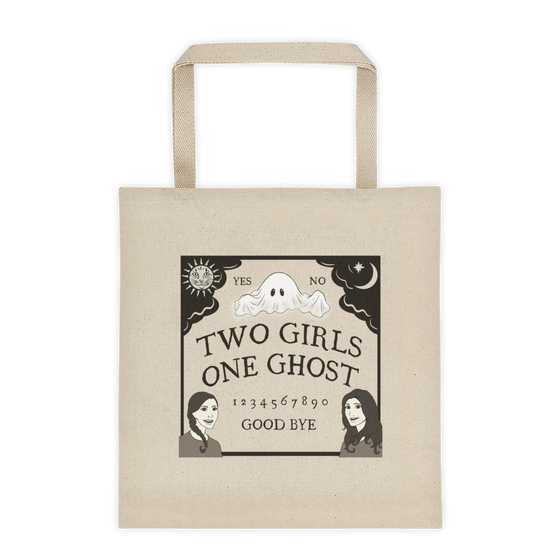 Image of TWO GIRLS ONE GHOST LOGO - TOTE