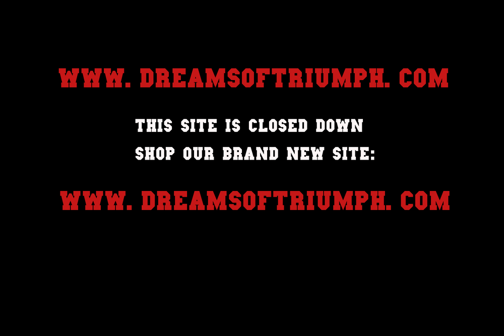 Image of Brand new site: www.dreamsoftriumph.com