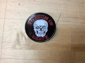 Image of Museum Of Death Metal Badge / Pin