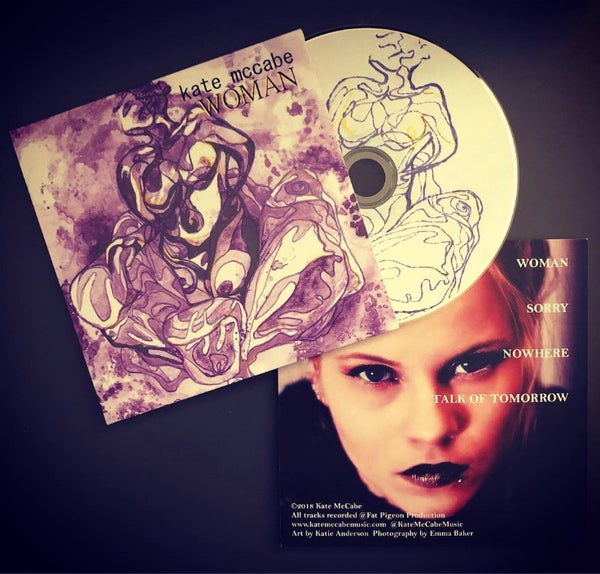 Image of WOMAN - EP CD