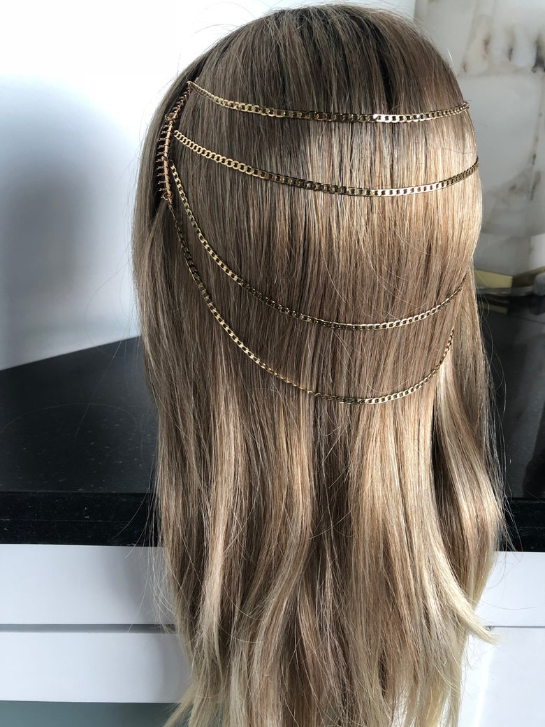 Image of Chain Hair Combs