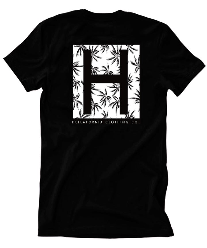 Image of Hellafornia Palm Pattern Tee