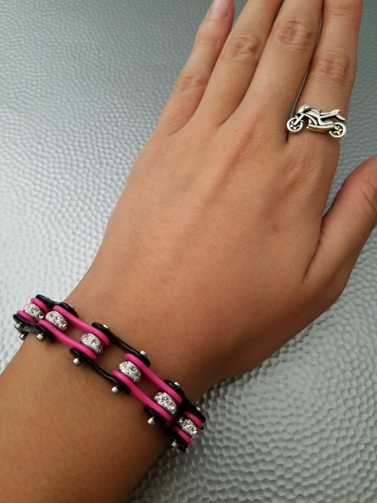 Image of Bike Chain Bracelets