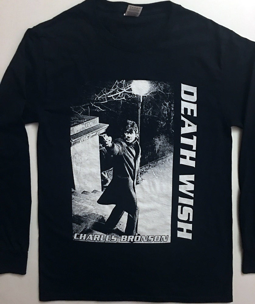 Image of Death Wish - Long sleeve  T shirt