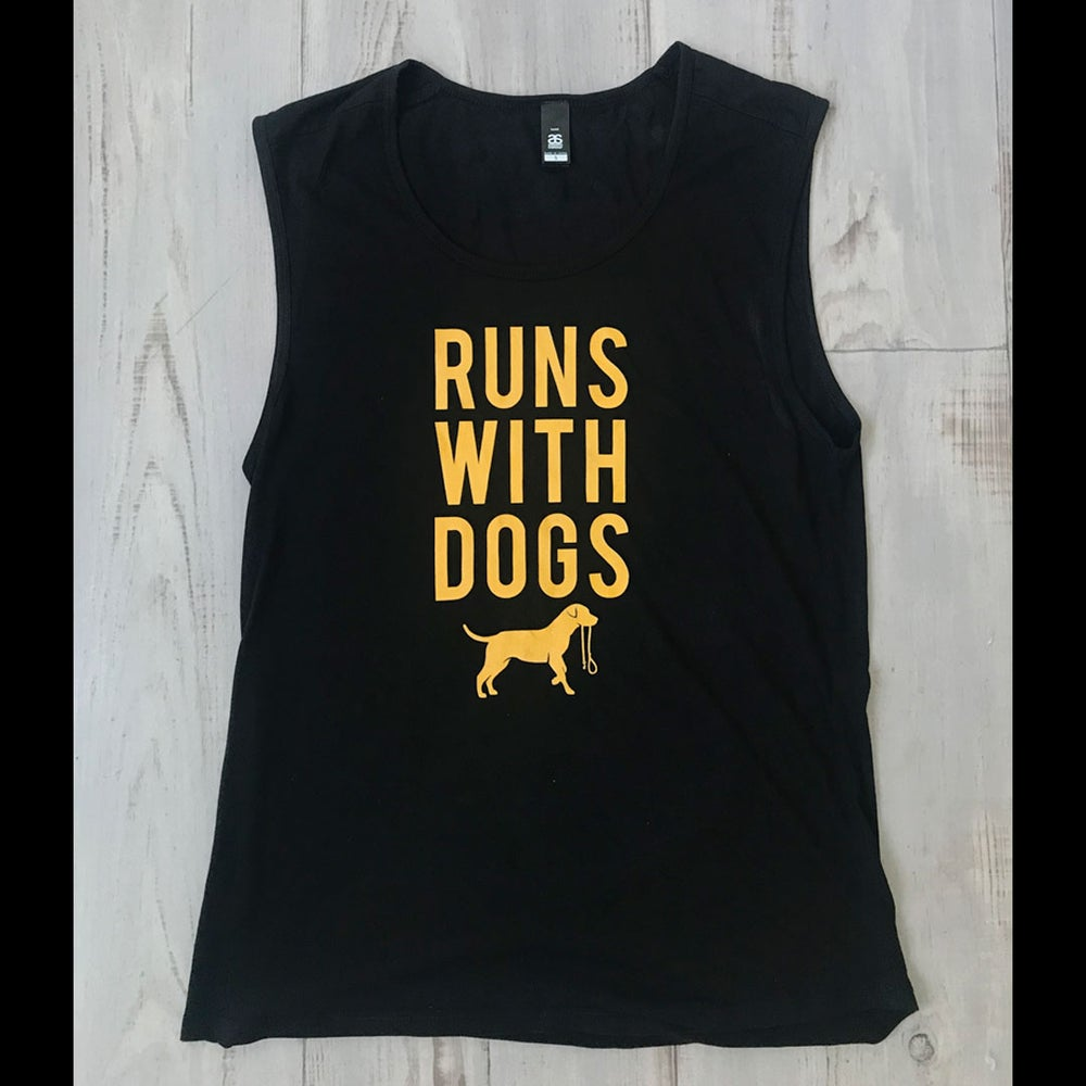 Image of Runs With Women's Tank Tee