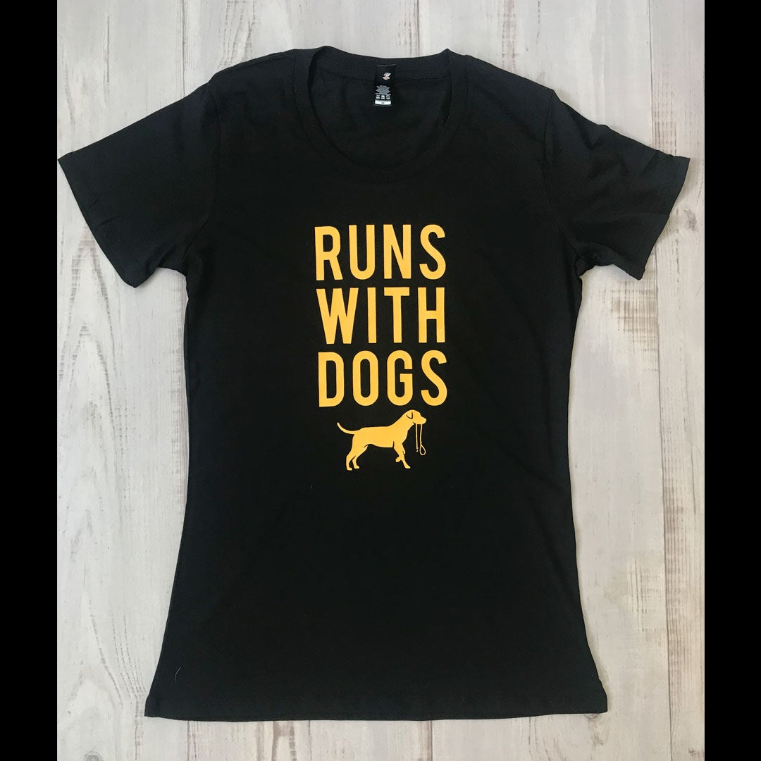 Image of Runs With Women's Tee